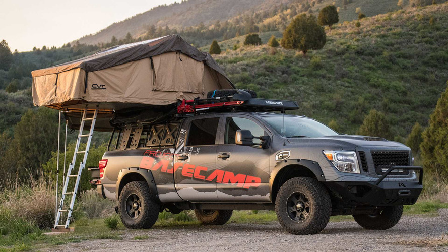 Nissan Titan XD Project Basecamp Is For Backcountry Explorers