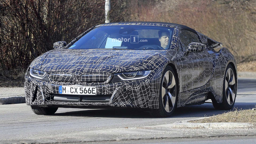 BMW i8 Roadster Will Have More Electric Power, Updated Cabin