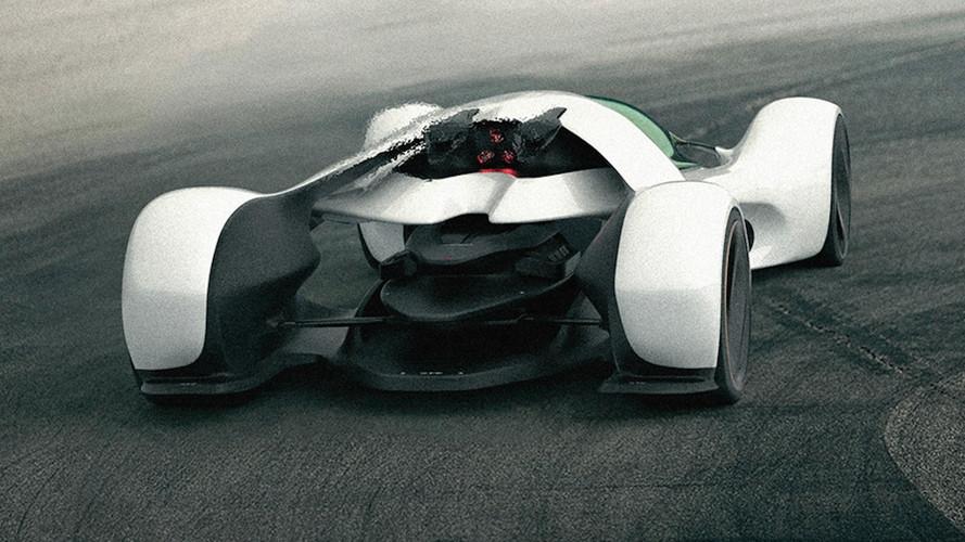 McLaren Hypercar Rendering