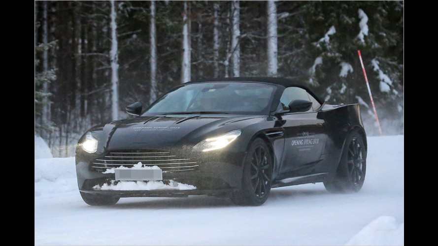 Erwischt: Aston Martin DB11 Volante