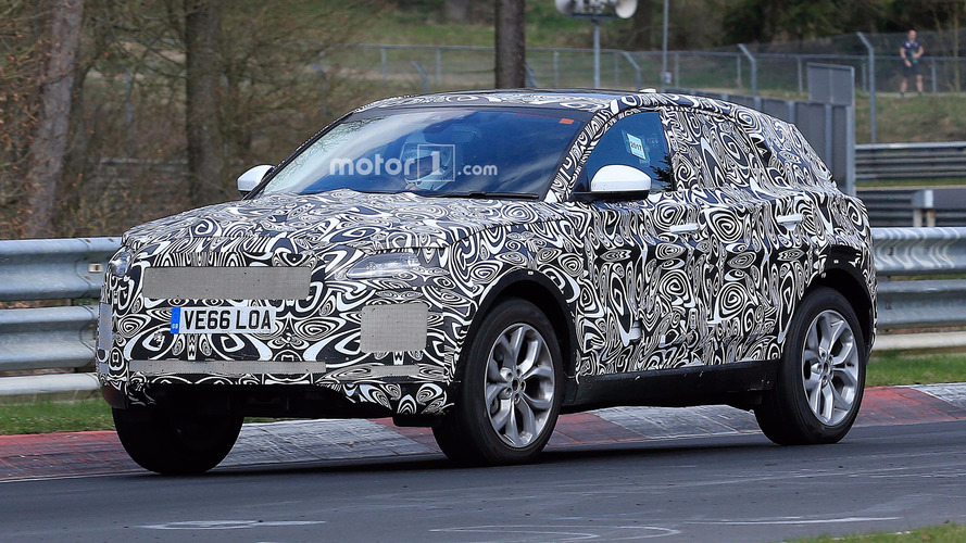 Jaguar E-Pace Interior Spied For First Time
