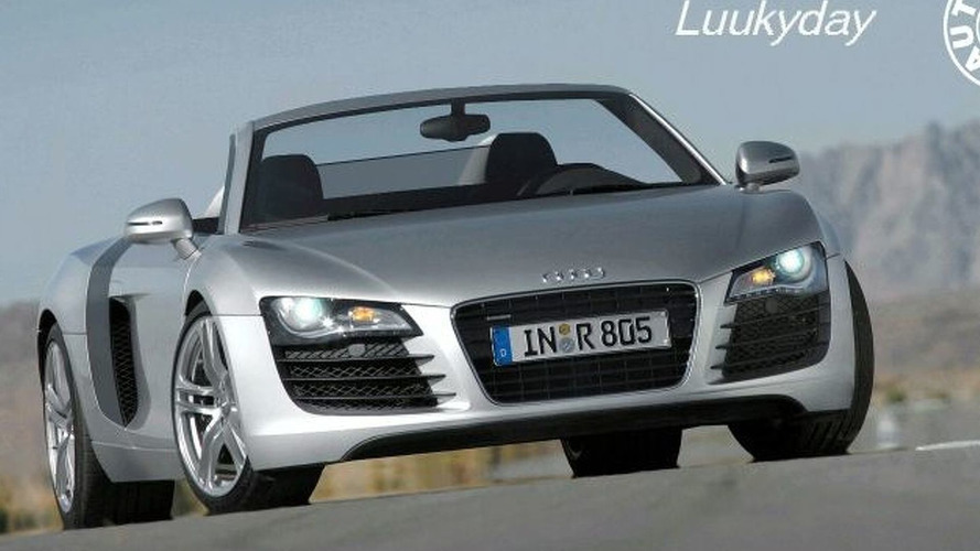 Audi R8 Convertible Rumor Emerges