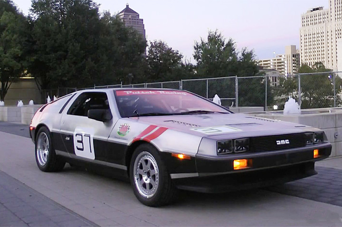 Watch This Racy DeLorean DMC-12 Spit Flames