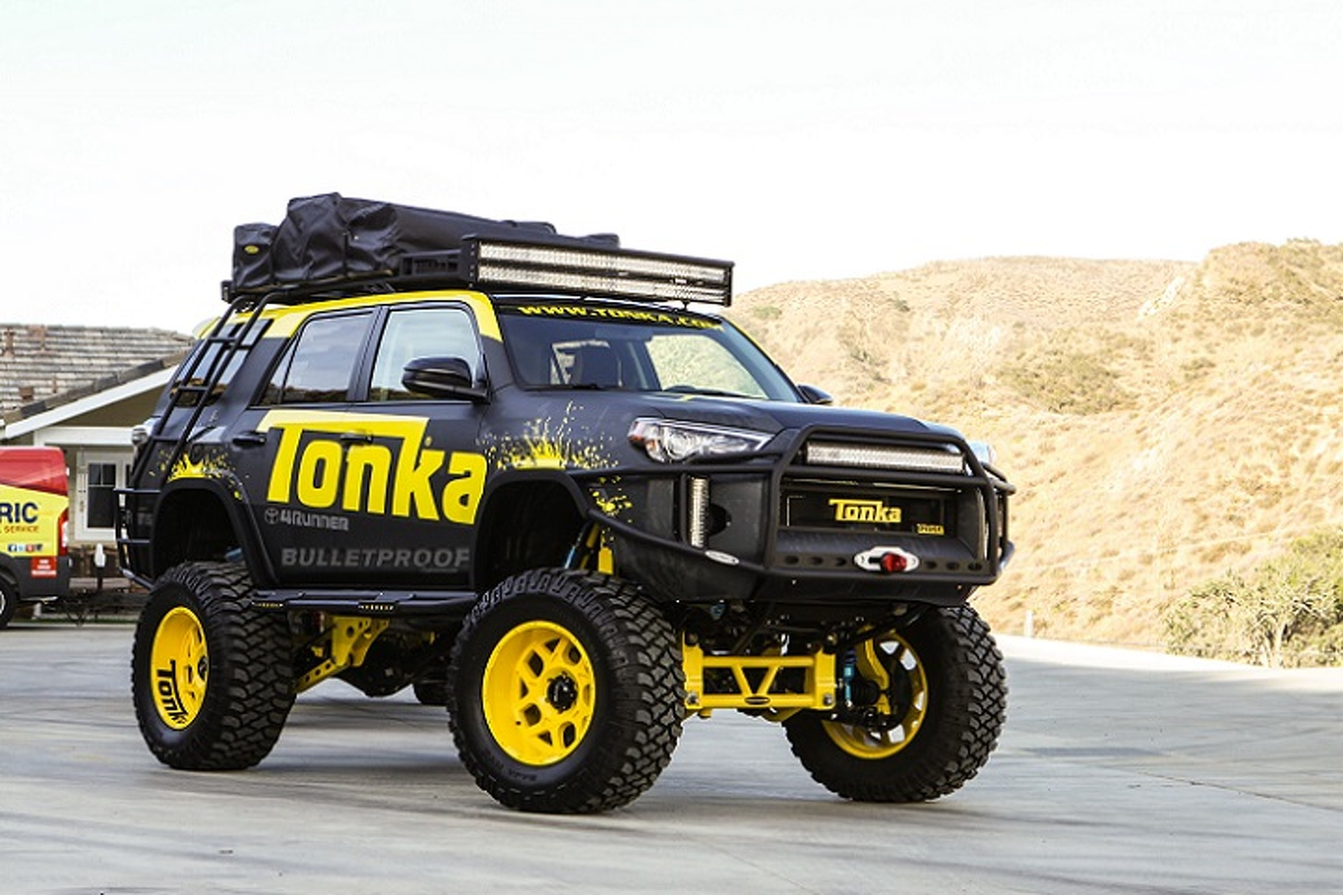 The TONKA Runner Is Your Inner Childs Dream Truck - 4runner truck