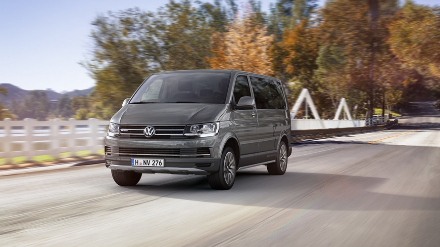 VW T6 Multivan Deliveries Abruptly Stopped Over High Emissions