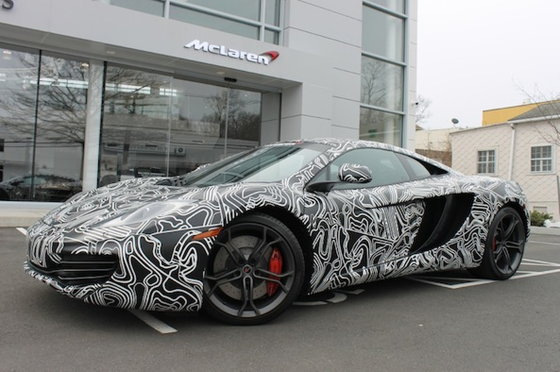 Classified of the Week: McLaren MP4-12C Covered in Camo