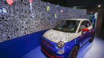 Fiat 500 Pepsi theme car by Garage Italia Customs