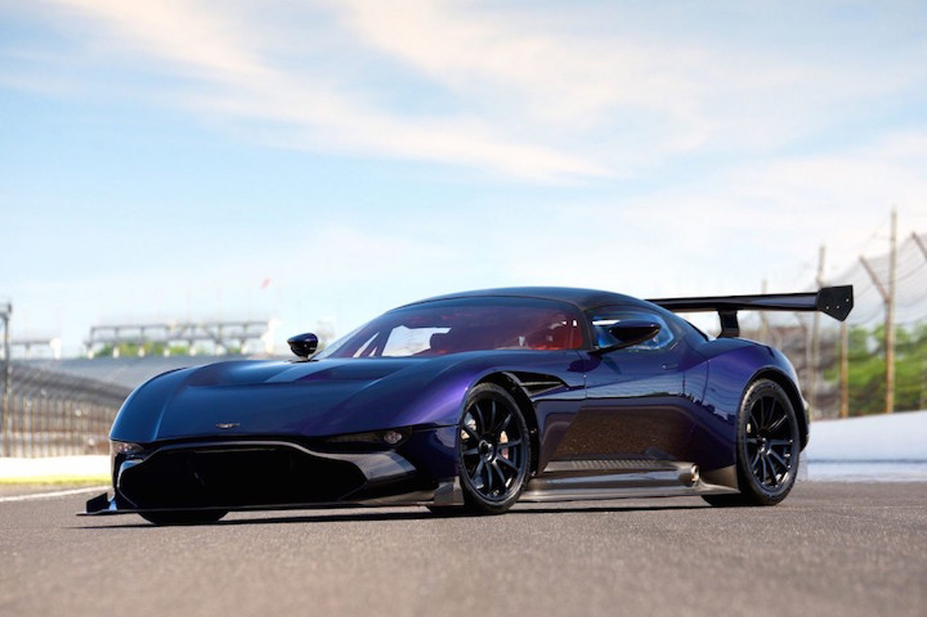 Aston Martin Vulcan to make race debut
