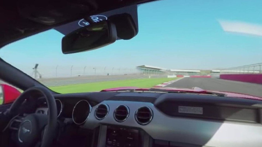 2015 Ford Mustang laps Silverstone in a new interactive video