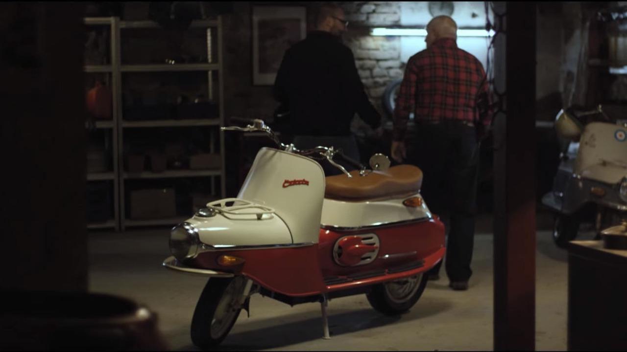 Cezeta scooter reborn