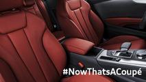2017 Audi A5 Coupe teaser