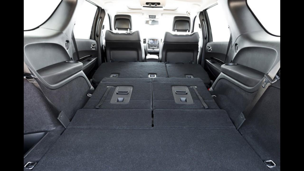 Dodge inicia vendas do SUV Durango no Brasil com preços a partir de R$ 189.900