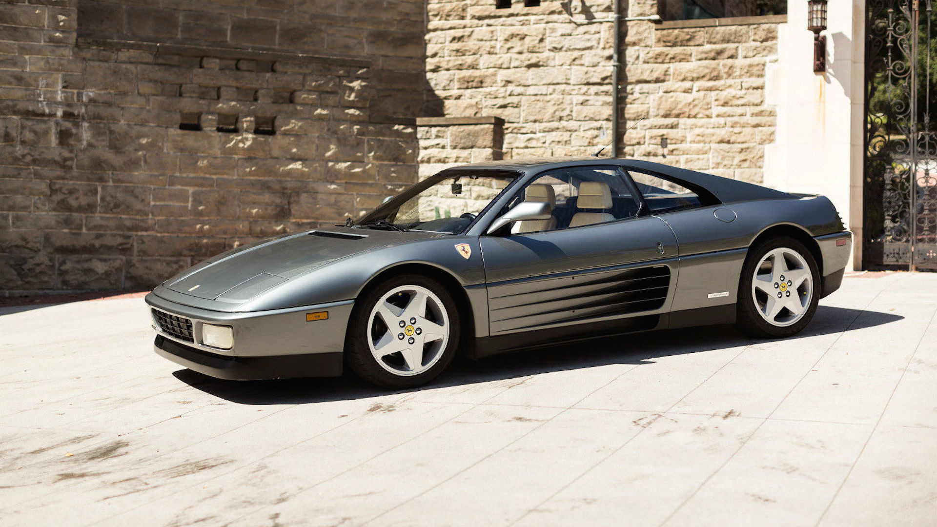 1990 Ferrari 348 eBay find more grown up in Grigio