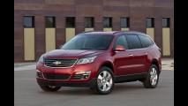 Salão de Nova York: Chevrolet apresentará novo visual do crossover Traverse