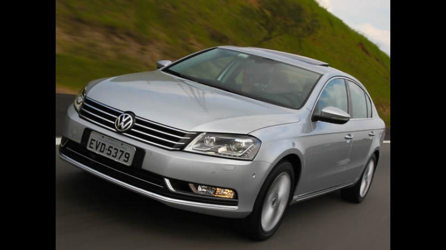 VW lança os Novos Passat e Passat Variant 2012 no Brasil - Vejas os preços e itens de série