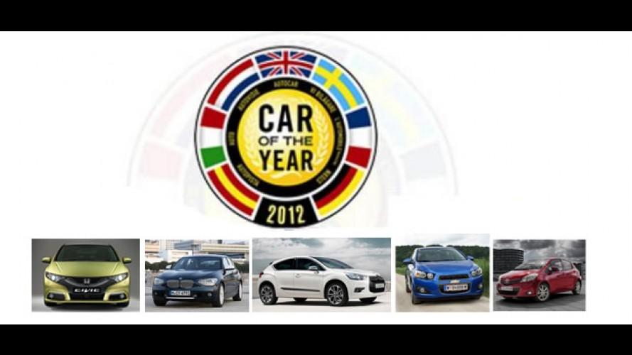Anunciados os candidatos ao Prêmio Carro do Ano 2012 na Europa