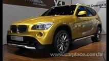 Novo BMW X1 2010 é flagrada durante ensaio fotográfico - Lançamento será em setembro