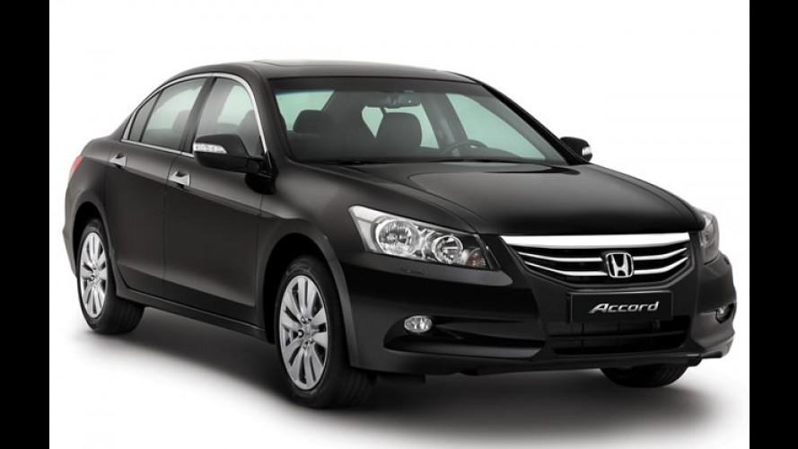 Honda Accord ganha redução de preços na Austrália - Versão de entrada custa o equivalente a R$ 58.592