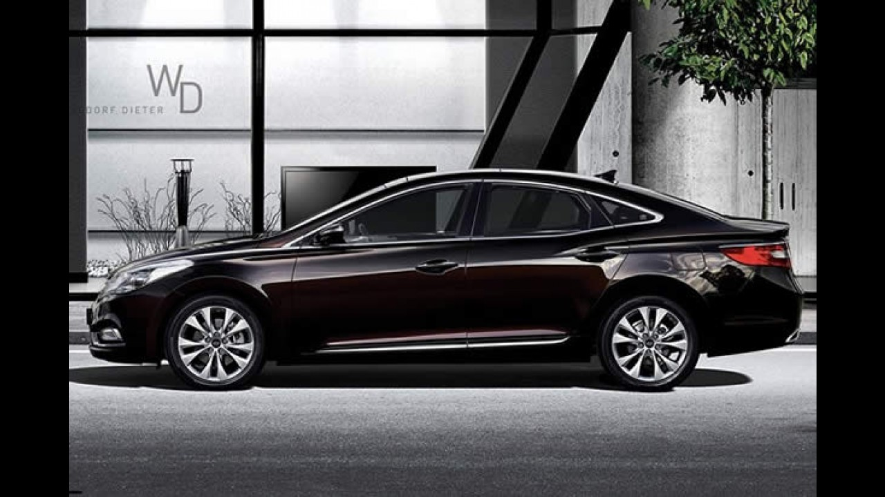 Novo Hyundai Azera chega ao Chile com preço estimado de US$ 35 mil (R$ 55 mil)