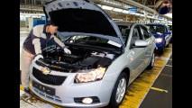Funcionários da GM na Coreia marcam greve para o dia 4 de julho