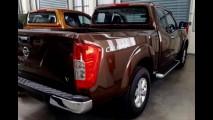 Vazam as primeiras fotos da nova Nissan Frontier sem camuflagem