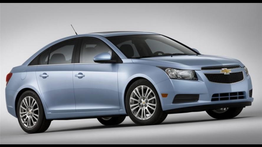Chevrolet apresentará o novo Cruze ECO no Salão de Nova York - Consumo é de 17km/l
