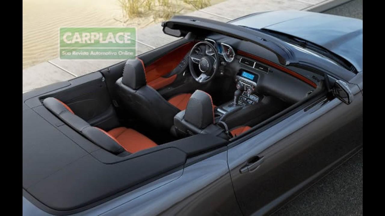Chevrolet divulga novas fotos oficiais do Camaro Conversível 2011