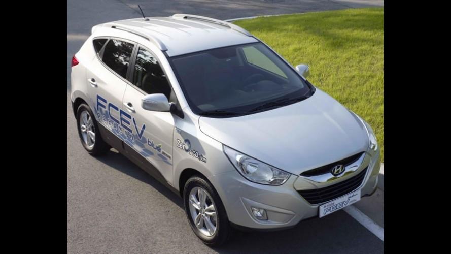 Hidrogênio para o Hyundai ix35 - Consumo chega a 30,9 km/l