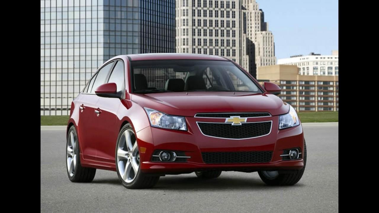 Chevrolet investirá US$ 220 milhões em fábricas nos EUA para produzir próxima geração do Cruze