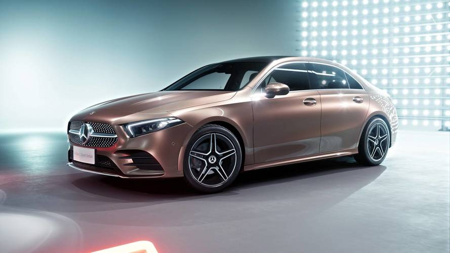 Mercedes-Benz Clase A 2018: nueva versión Sedan para China