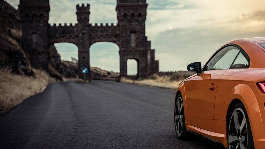 2019 Audi TT Teaser Photos Suggest Reveal Is Imminent