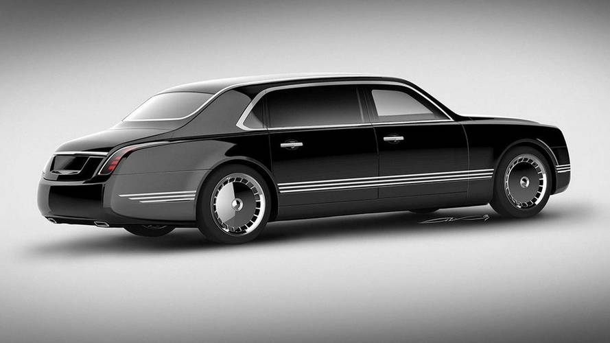 2018 Russian Presidential Limo