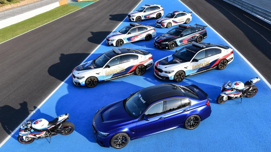 BMW présente les véhicules de sécurité du MotoGP