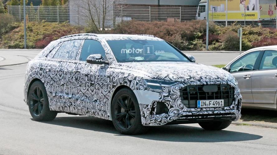 Fotos espía Audi RS Q8 2019: un SUV que parece ir en serio