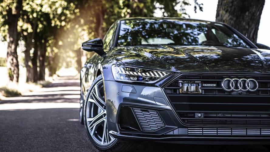 Audi A7 Sportback photo shoot in Malmo, Sweden