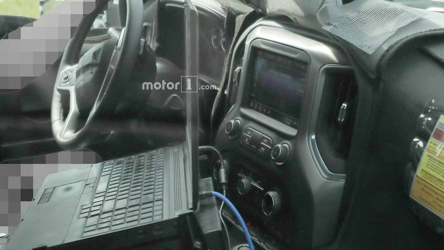 2020 Chevrolet Silverado HD's Cabin Spied For First Time