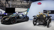 Bugatti Veyron Grand Sport Vitesse Black Bess live at Auto China