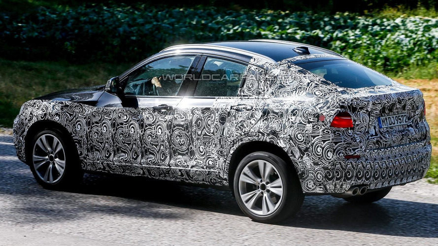 2014 BMW X4 spied for a second time