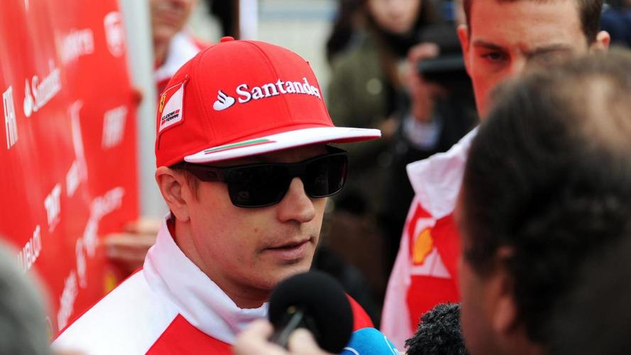 Raikkonen's back 'ok' after F1 driving return