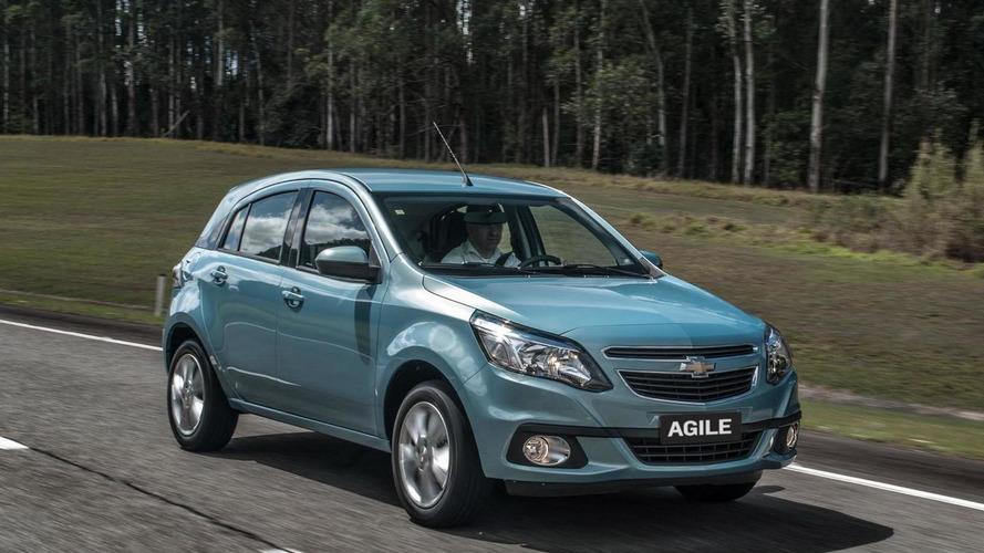 2014 Chevrolet Agile facelift revealed