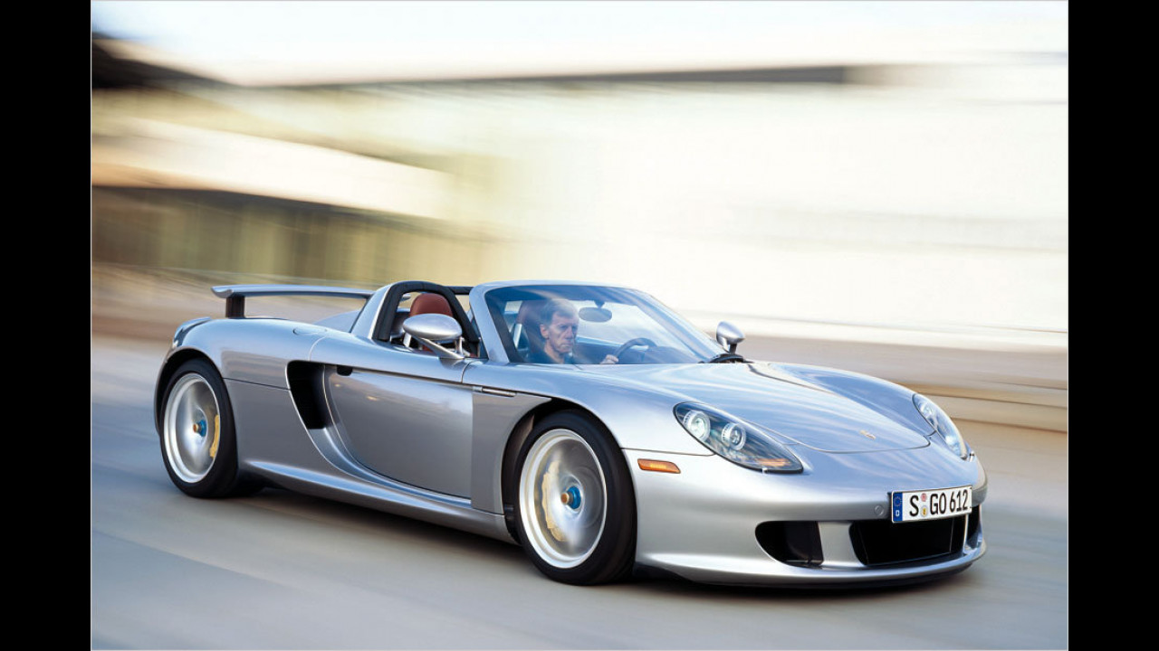 Ein Exemplar: Porsche Carrera GT
