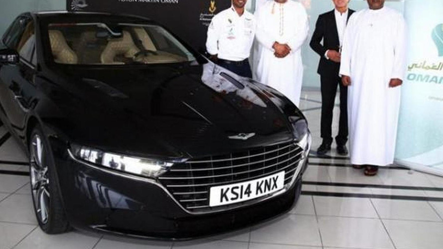 Aston Martin Lagonda first images released