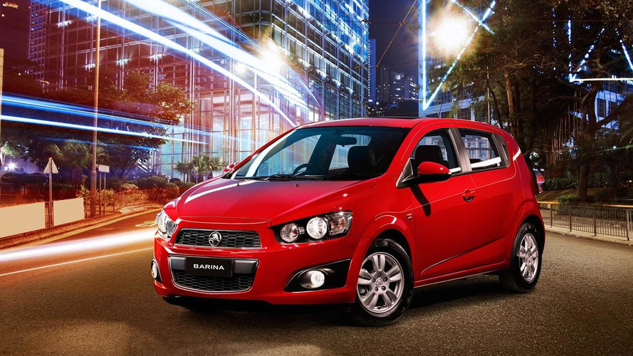 Holden Barina Trio announced