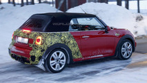 MINI JCW Convertible spy photo