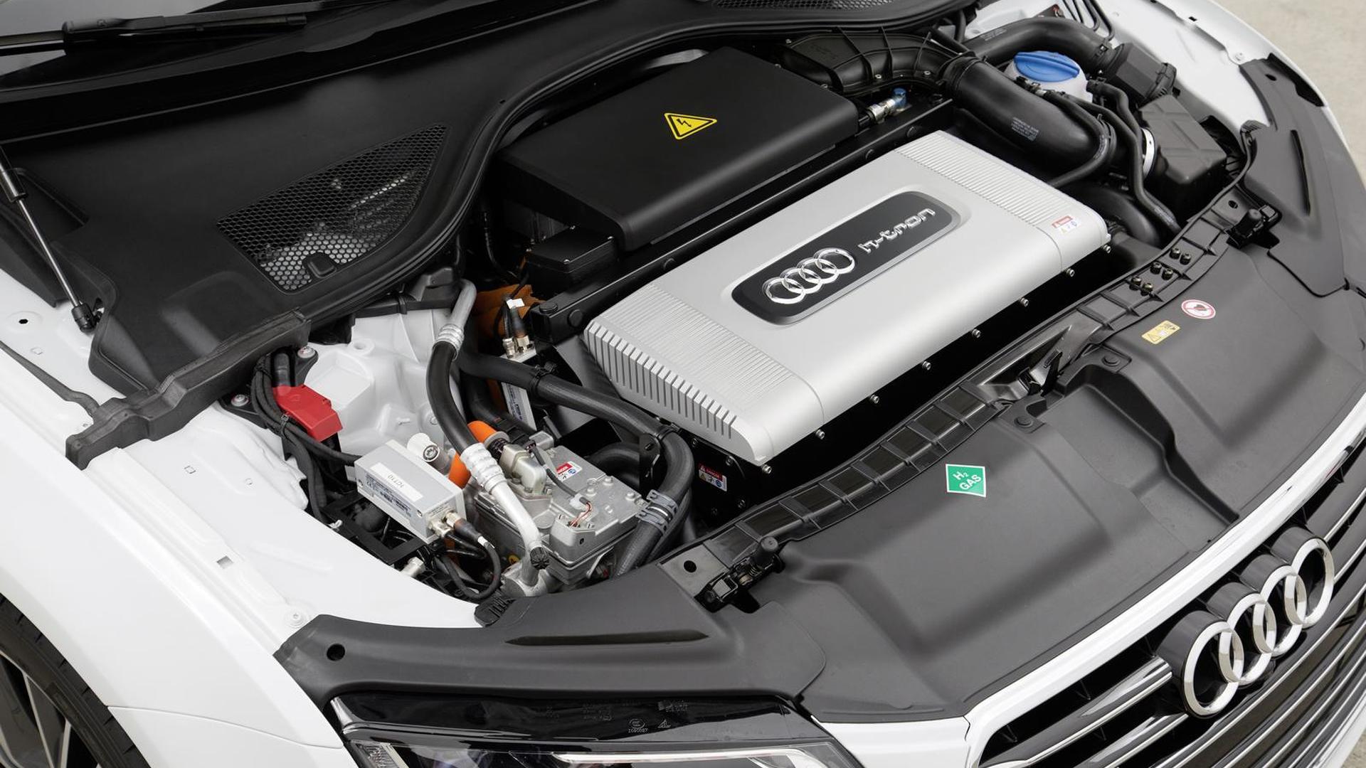 Водородный мотор Audi A7 Sportback h-tron quattro
