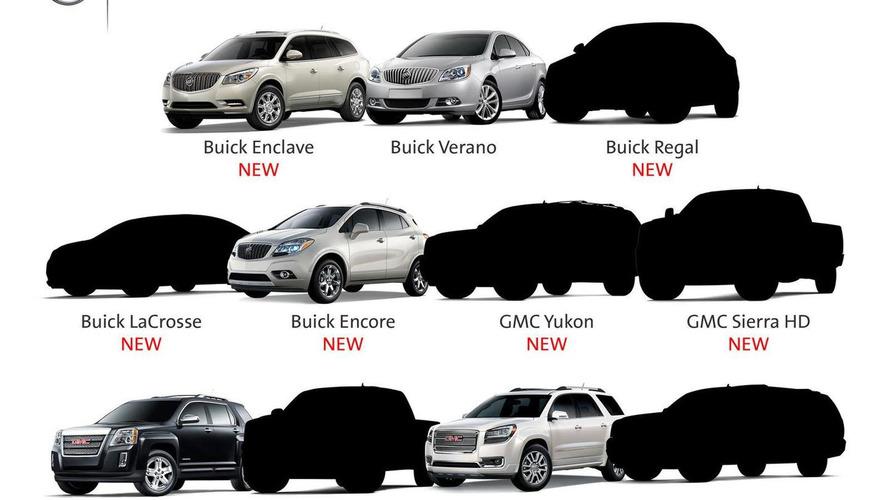 Buick & GMC tease six upcoming models