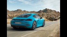 Porsche mostra o novo 718 Cayman, agora mais barato que o Boxster