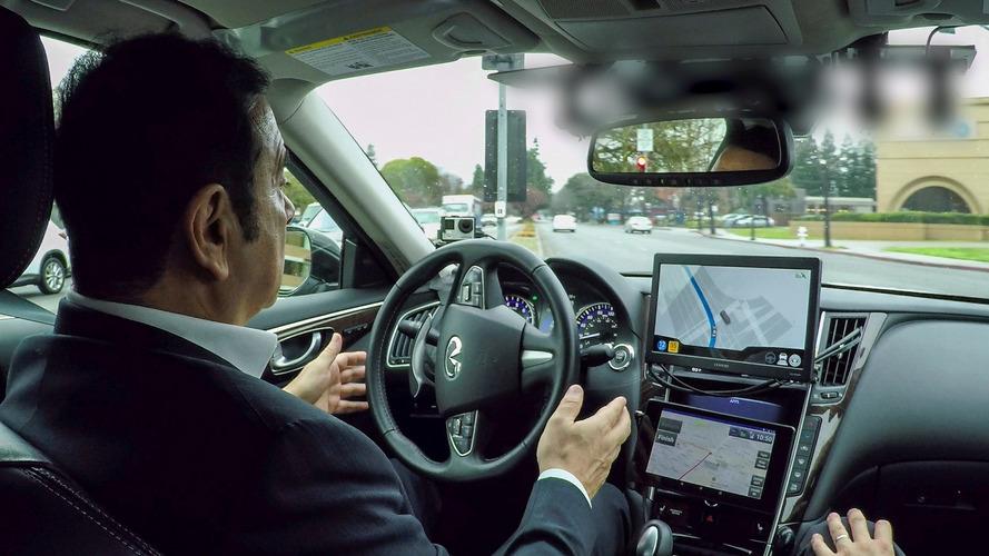 Nissan CEO Ghosn expresses cautious optimism on autonomous cars