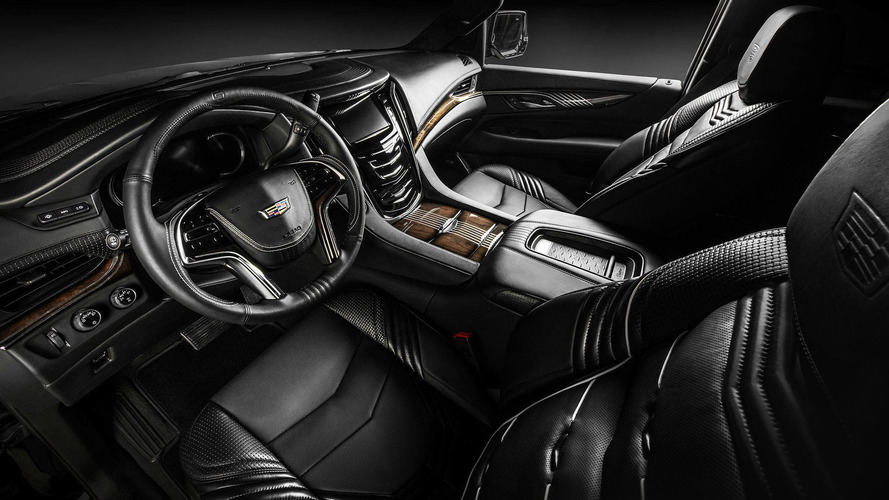 cadillac escalade 2015 black interior. cadillac escalade interior by carlex design takes luxury up a notch 2015 black