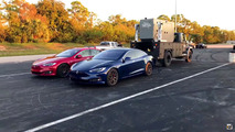 Tesla Model S P100D drag rekoru